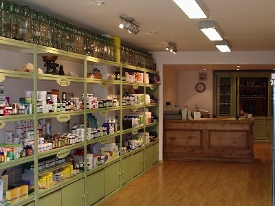 Medicine Shop and Clinic - inside the shop